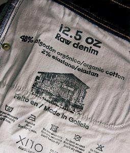 12.5 oz Raw Organic Denim