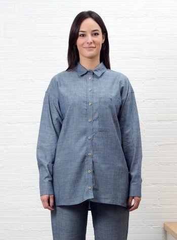 Arousa Eco Shirt Camisa Mujer Oversize